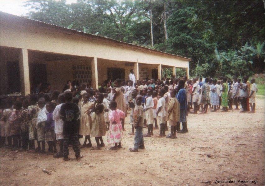 Une école togolaise